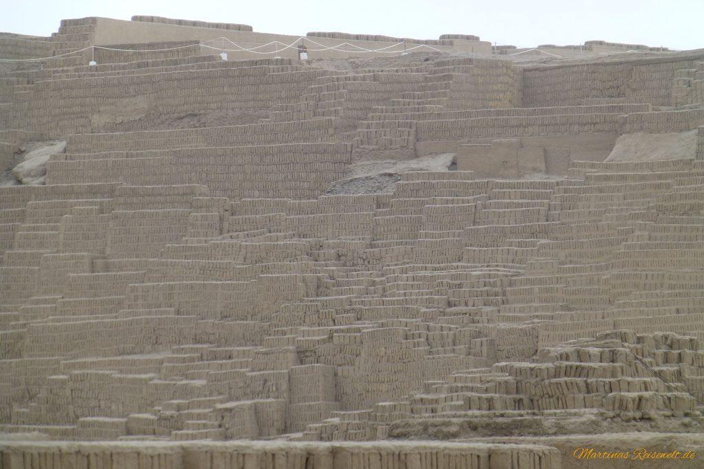 Huaca Pucllana - beeindruckende Größe, aber ziemlich farblos