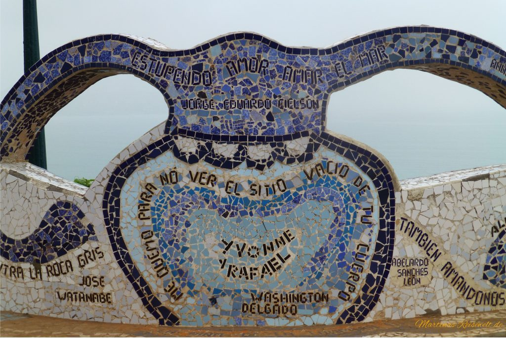 Mosaik im Park der Liebenden