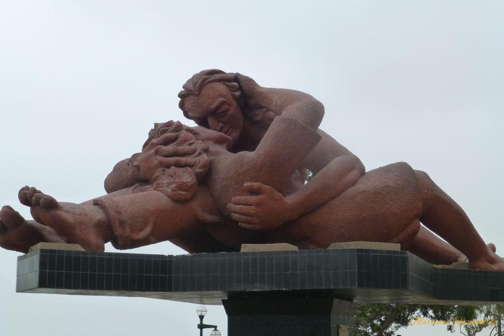 Skulptur im Park der Liebenden