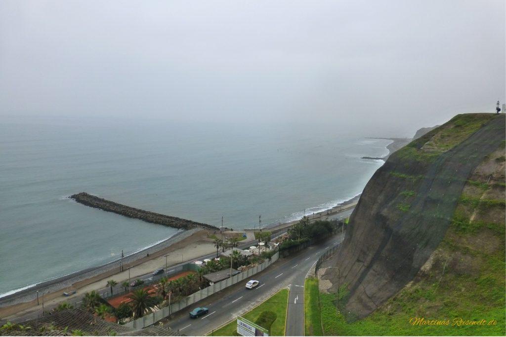 Steilküste mit Aussicht