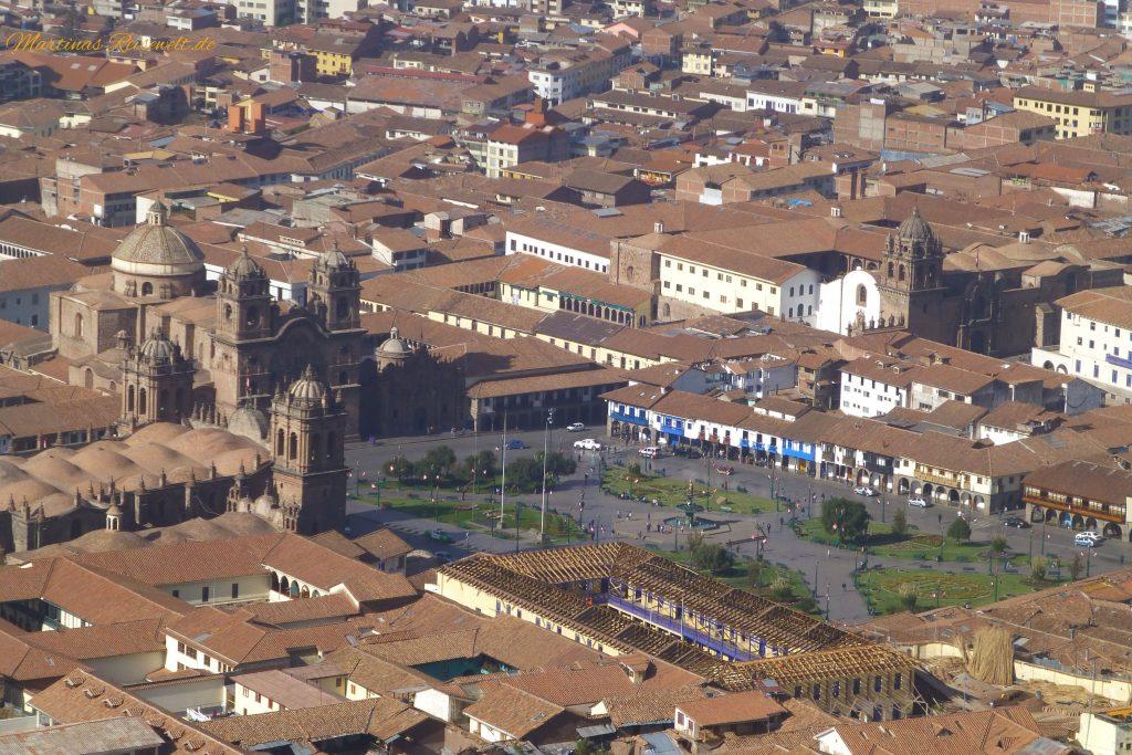 Altstadt Cusco - Plaza de Armas