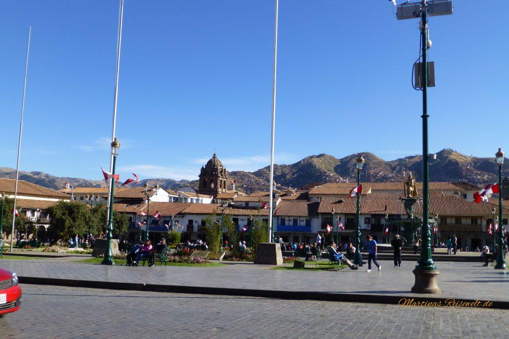Plaza de Armas tagsüber