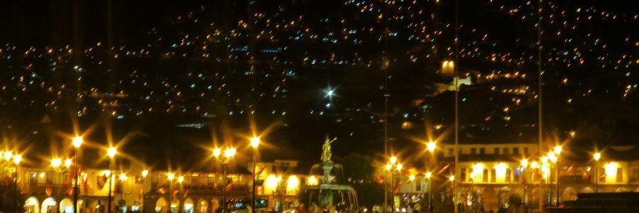 Cusco am Abend - Cusco by night