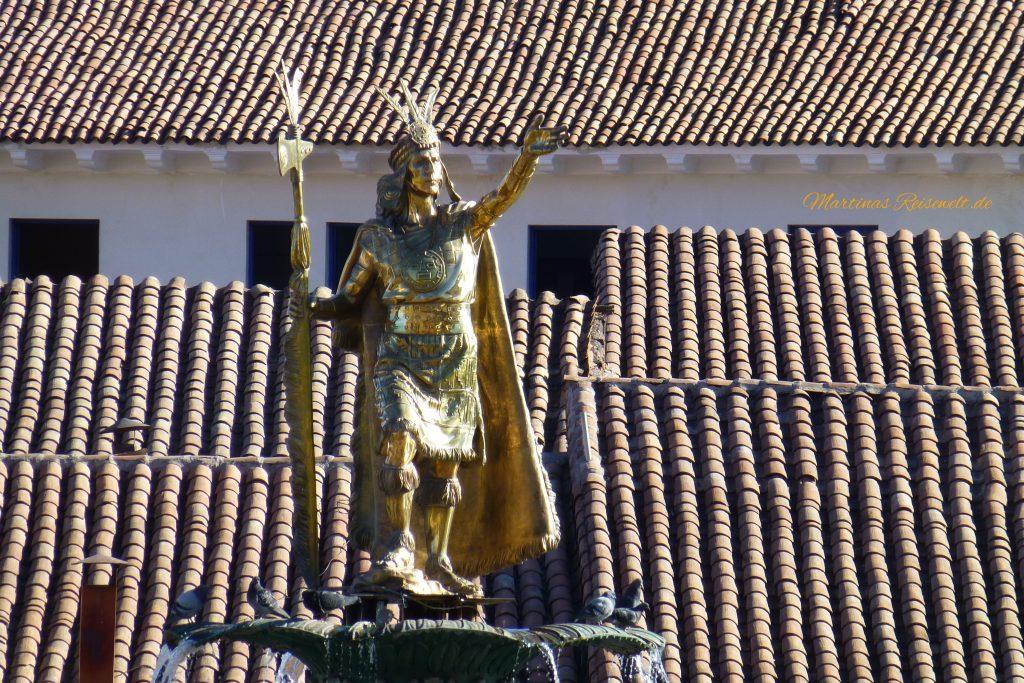 goldener Inkaherrscher