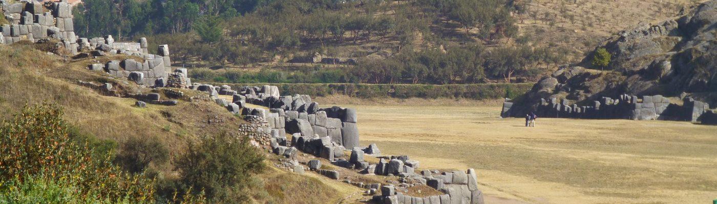 Blick zurück auf Sacsayhuaman