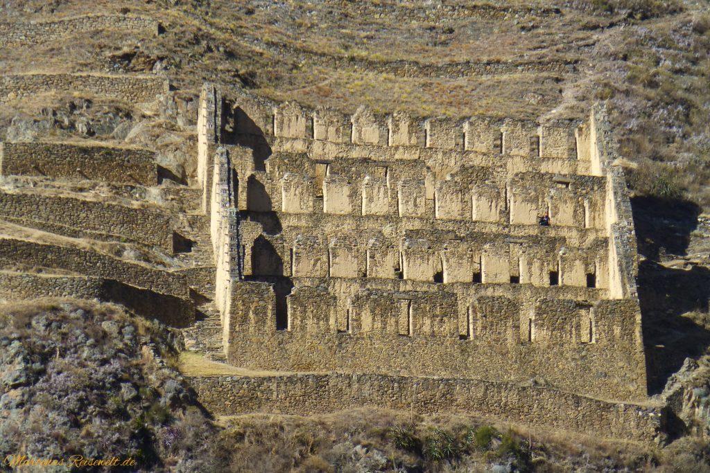 alter Kornspeicher der Inka