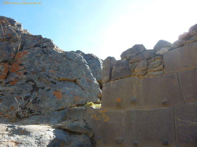 Teil der Mauer