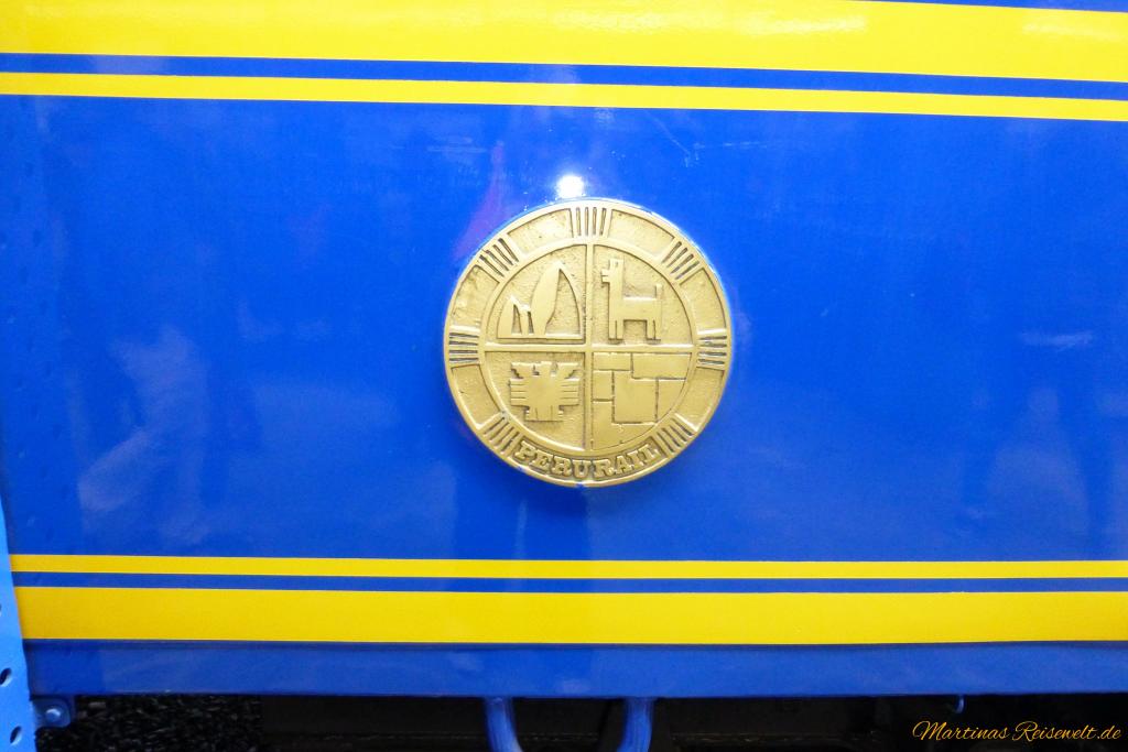 Perurail Wappen