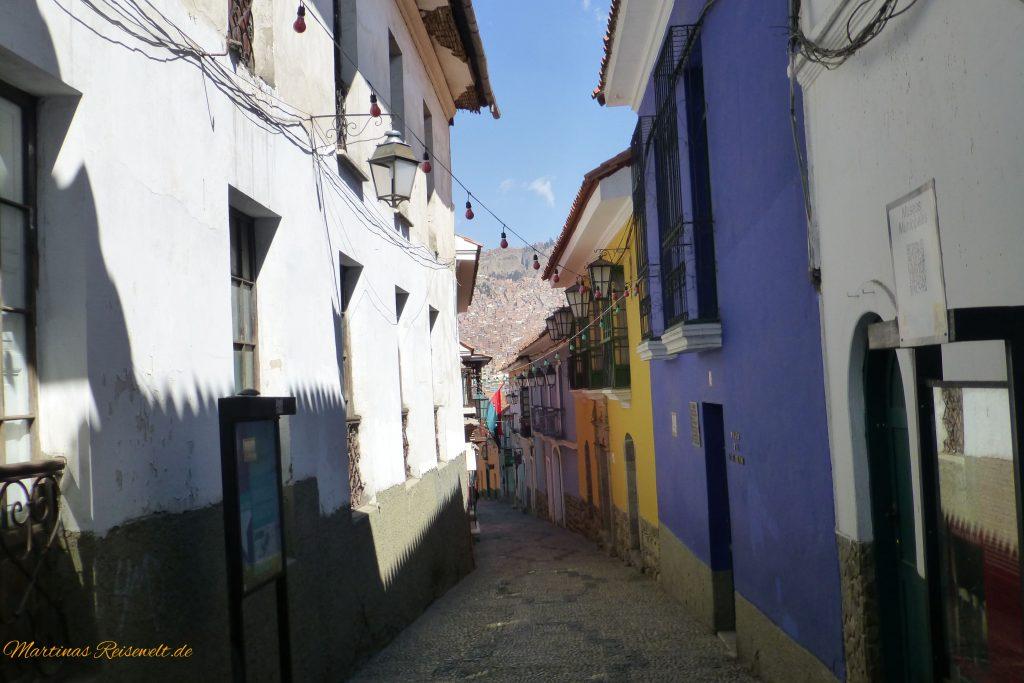 La Paz: Calle Apolinar Jaen