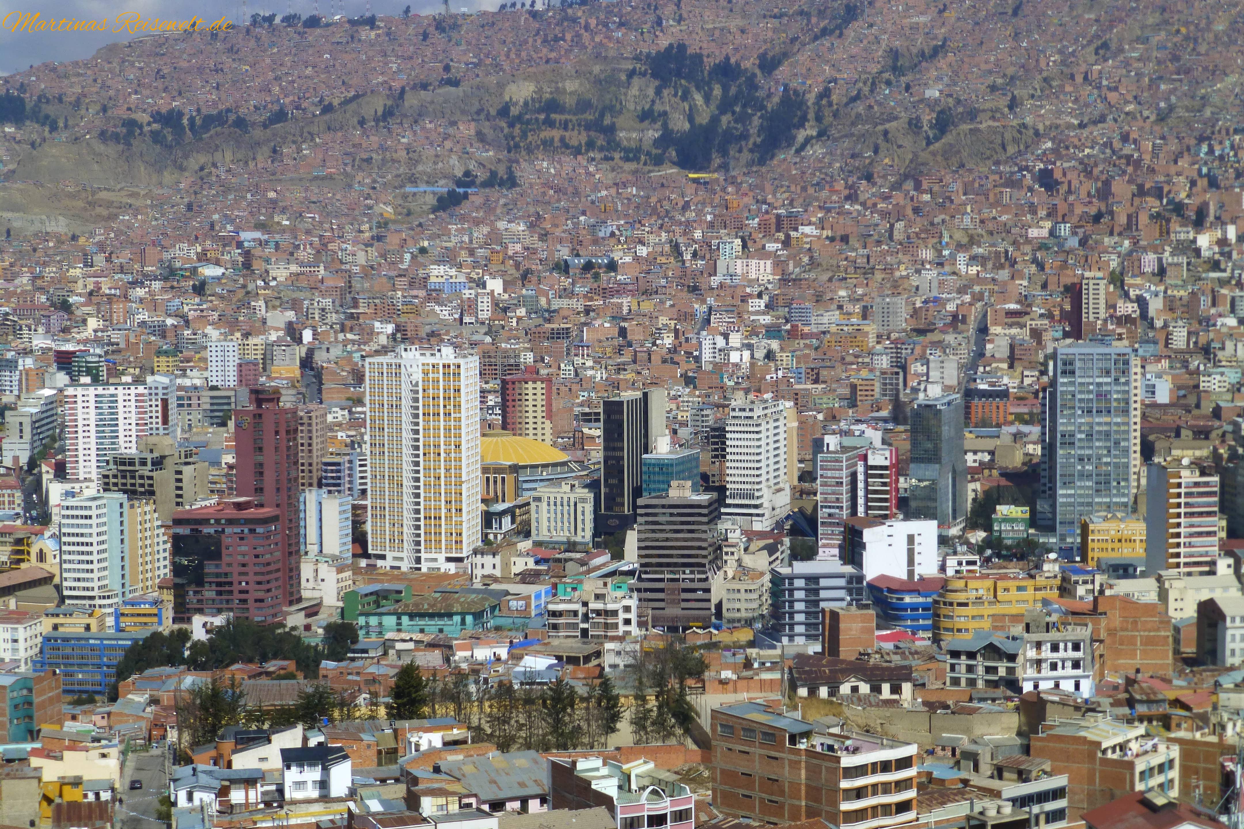 Mirador Killi Killi in La Paz