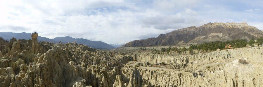 Valle de la Luna in La Paz