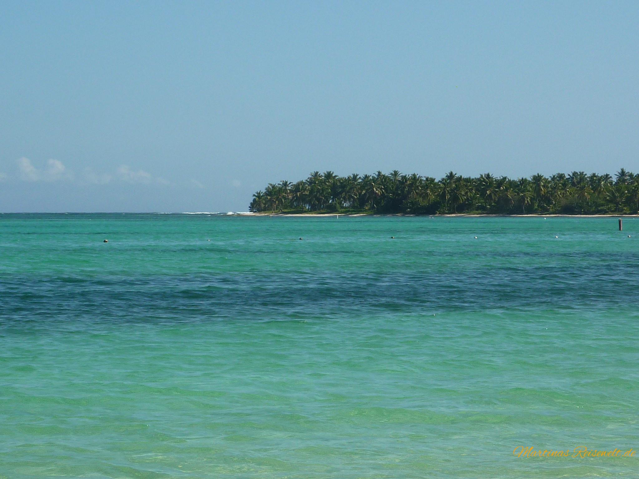 türkisblaues Meer an der Punta Cana