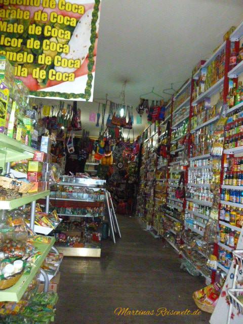 in einem der Geschäfte vom Hexenmarkt