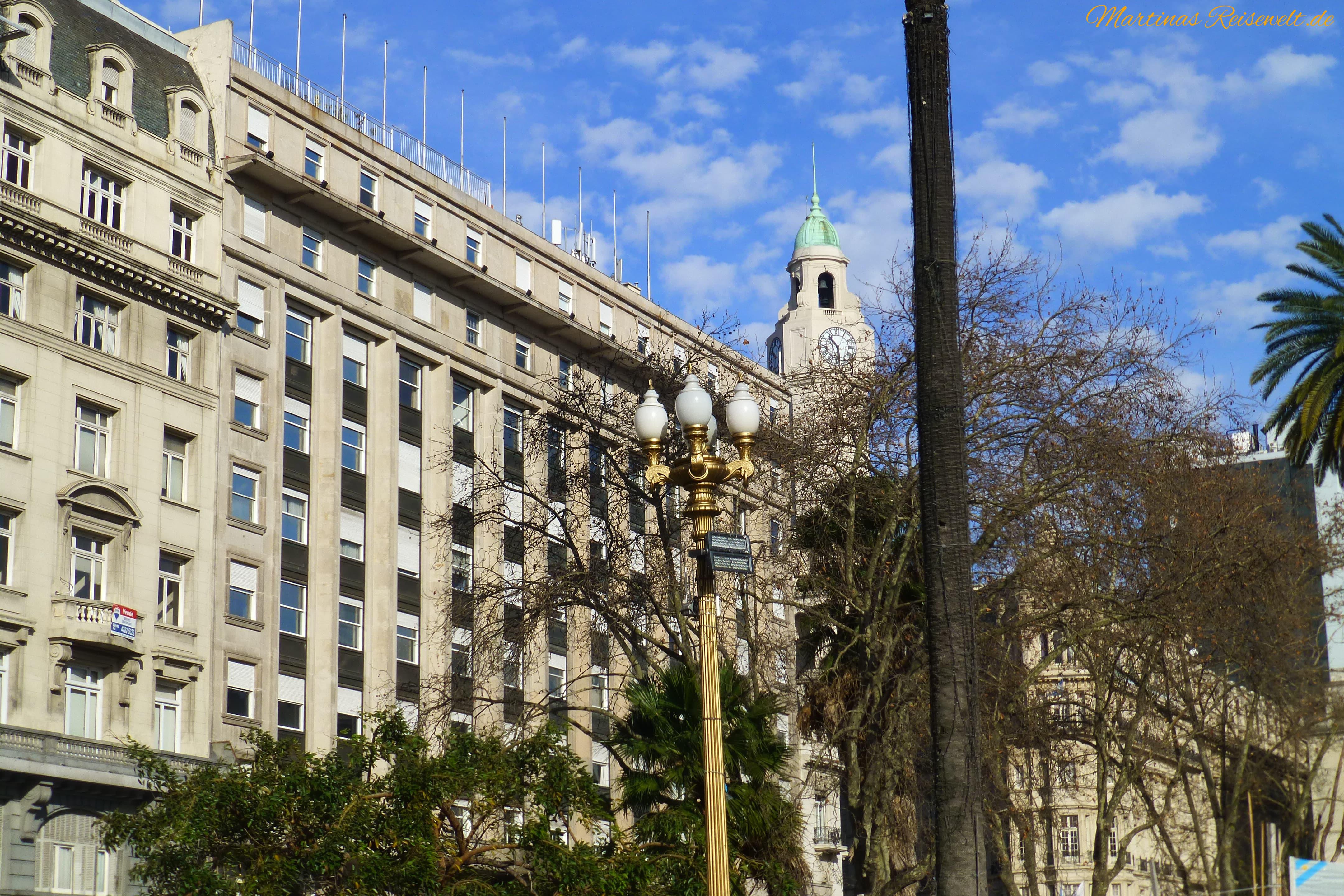 Gebäude am Plaza de Mayo