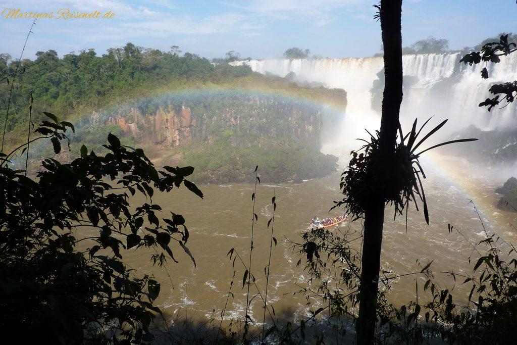 wunderschöner Regenbogen