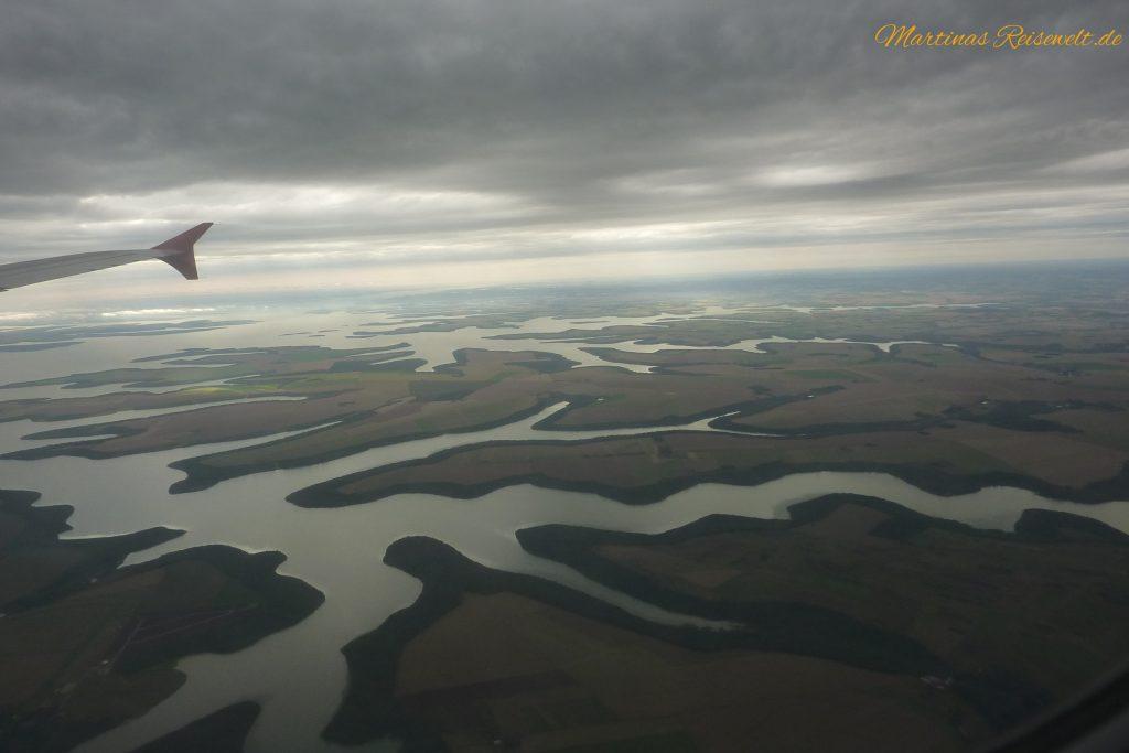 ein gigantisches Flusssystem speist die Wasserfälle