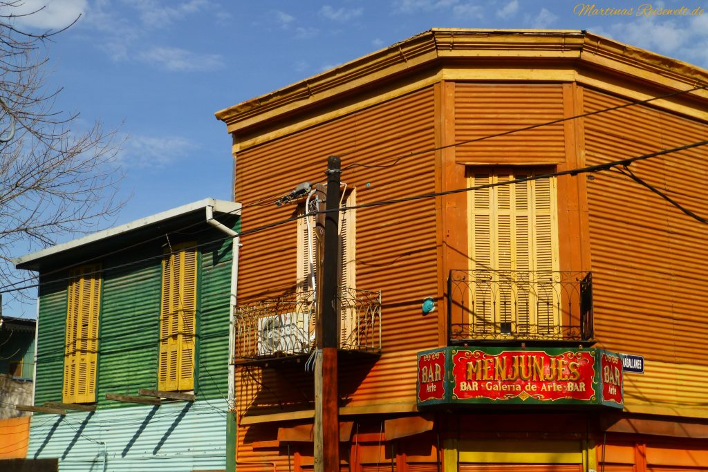 farbenfrohes La Boca