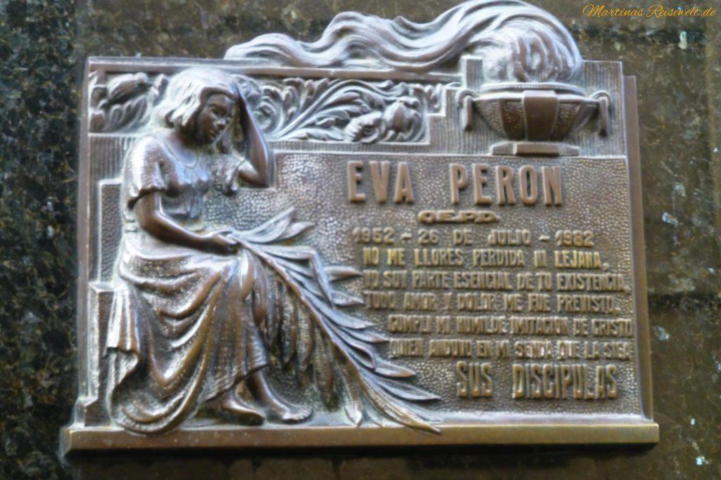 und natürlich Evita Peron