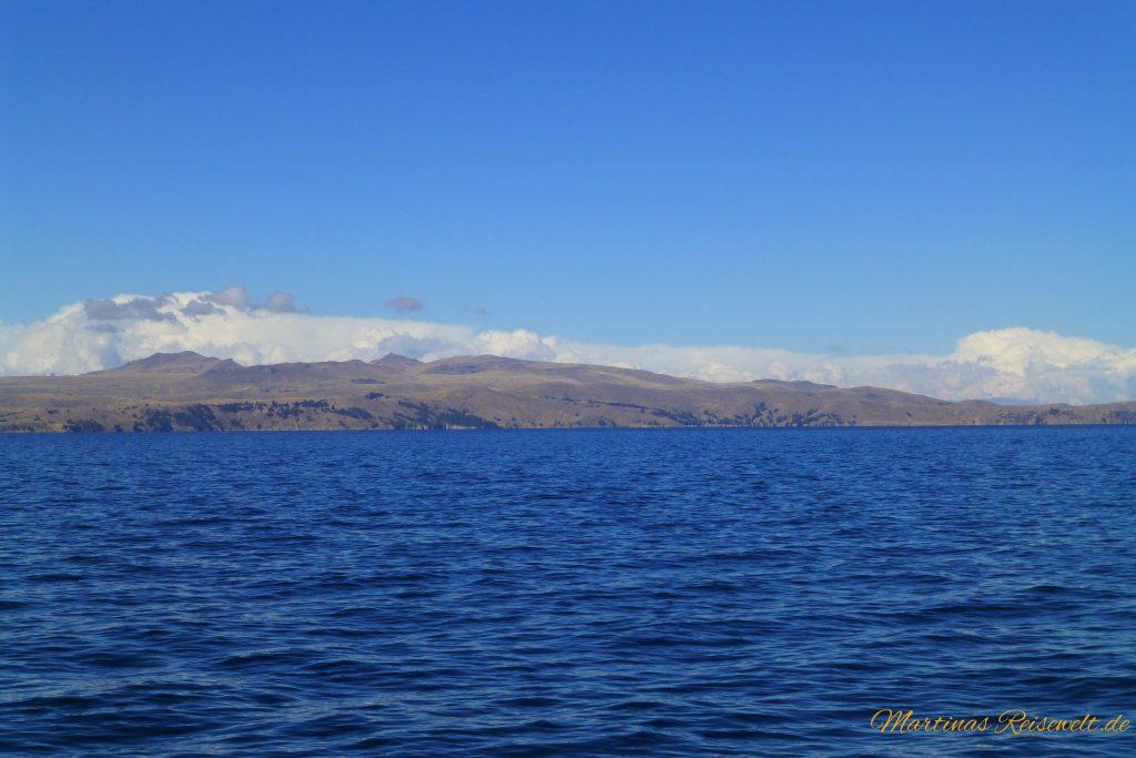 der tiefblaue Titicacasee