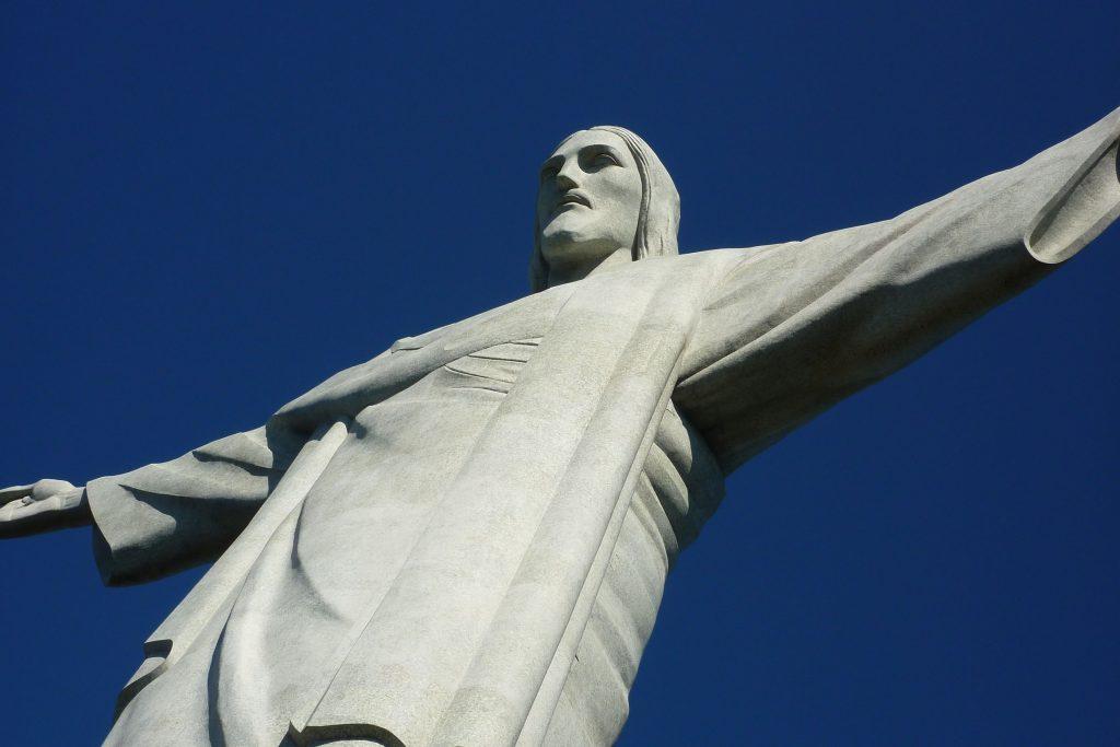 die berühmte Christusstatue