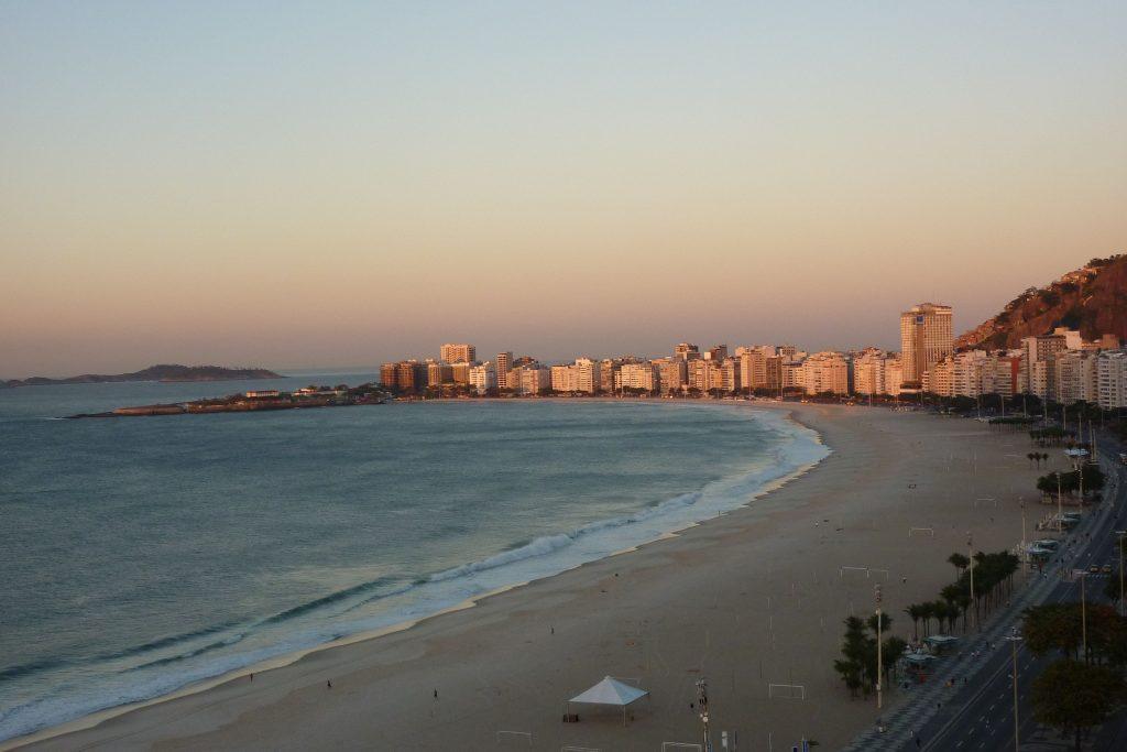Copacabana, Blick Richtung Ipanema