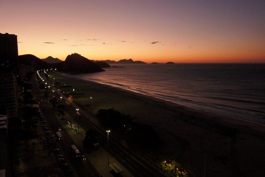 Copacabana Richtung Zuckerhut