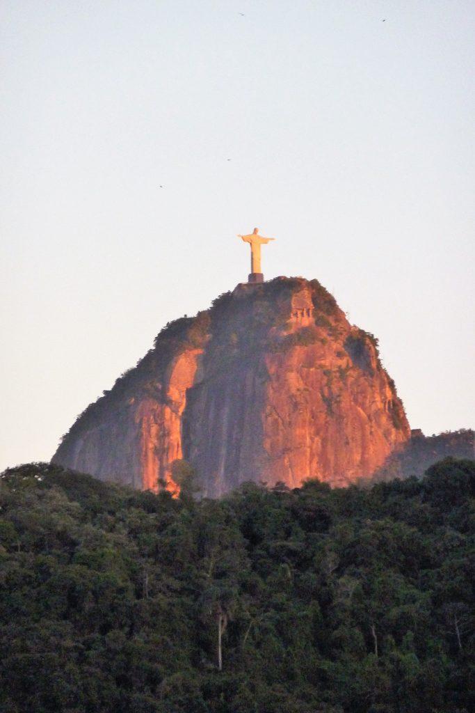 der Corcovado mit der Christusstatue