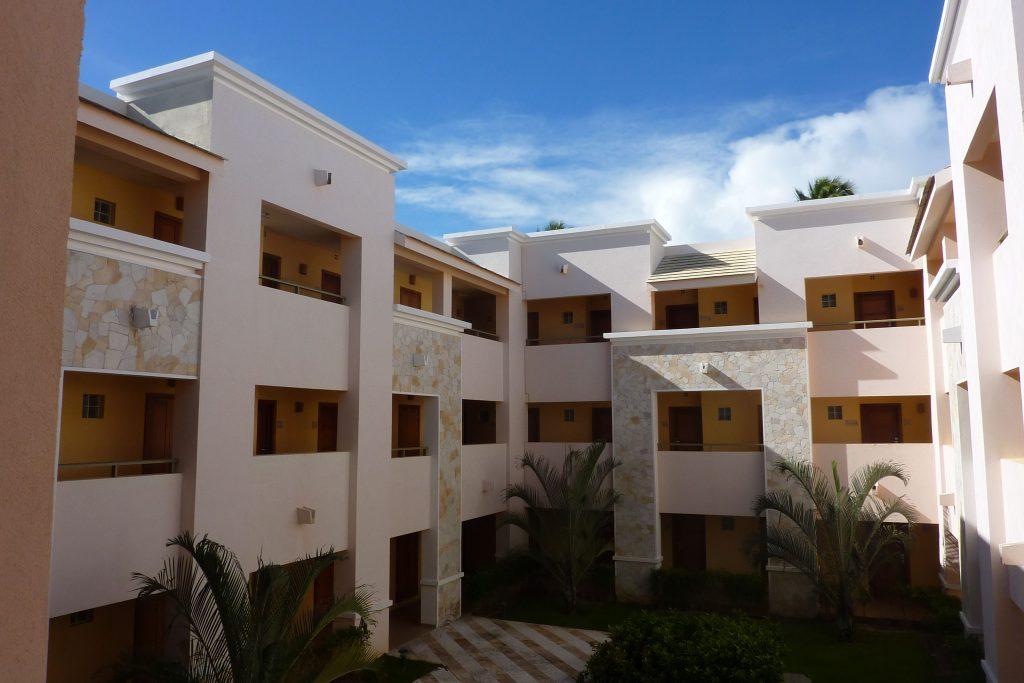 Wohnbereiche mit Innenhof