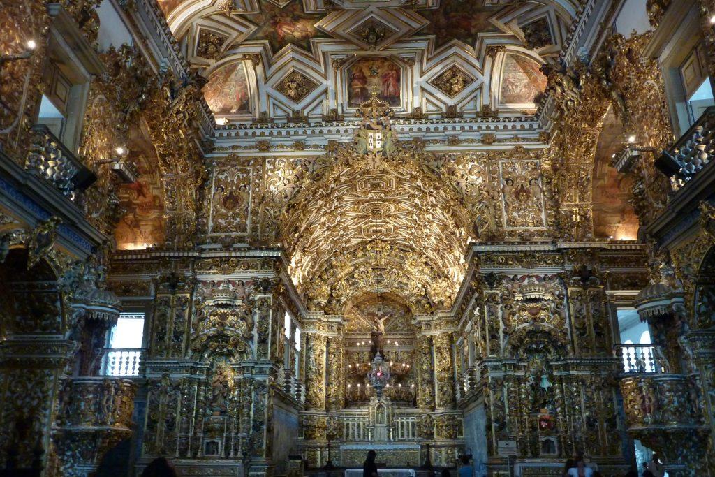 Igreja de São Francisco bietet einen überwältigenden Anblick