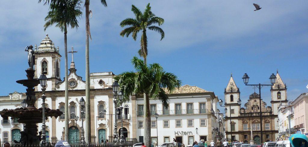 wunderschöne koloniale Architektur