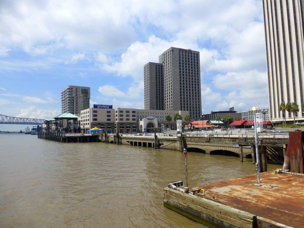Blick auf New Orleans