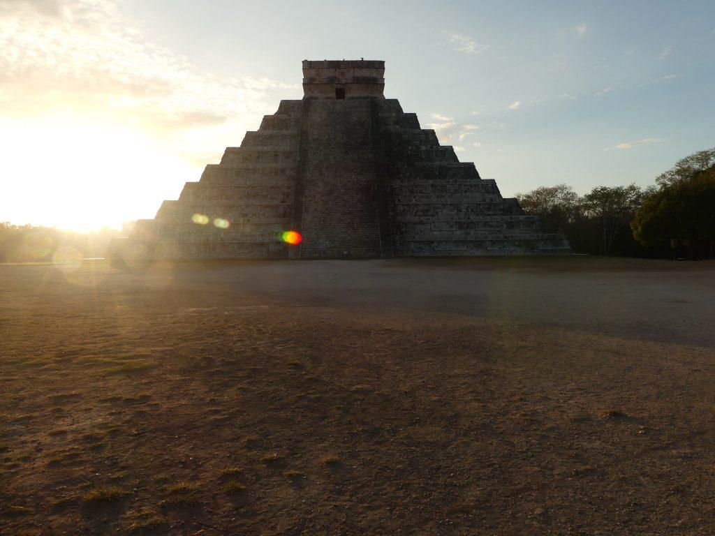 Chichen Itza, die Pyramide des Kukulcan