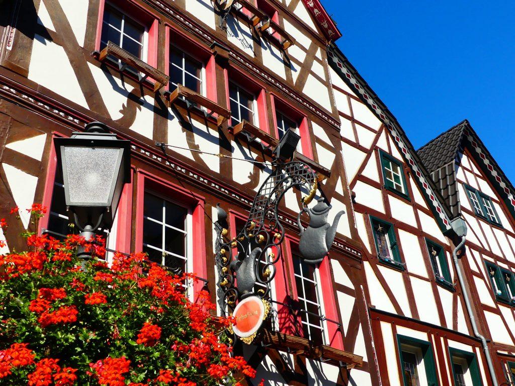 bezaubernde Fachwerkhäuser in Ahrweiler