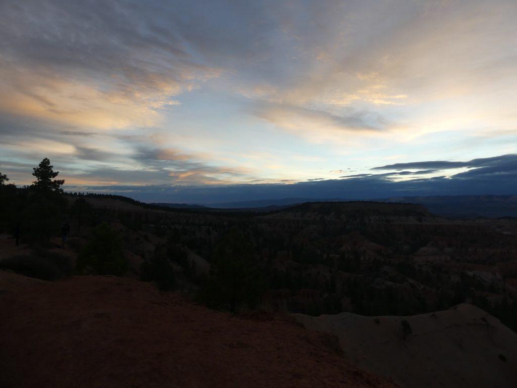 Bryce Canyon, gleich bricht die Sonne durch