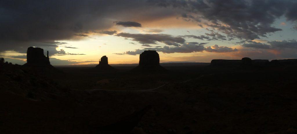 Monument Valley, früh am Morgen