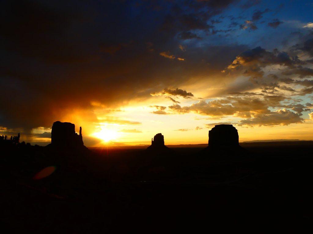 Monument Valley, ein fantastischer Sonnenaufgang