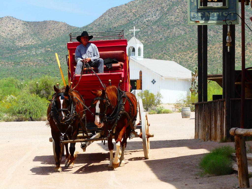 Old Tucson, Postkutsche