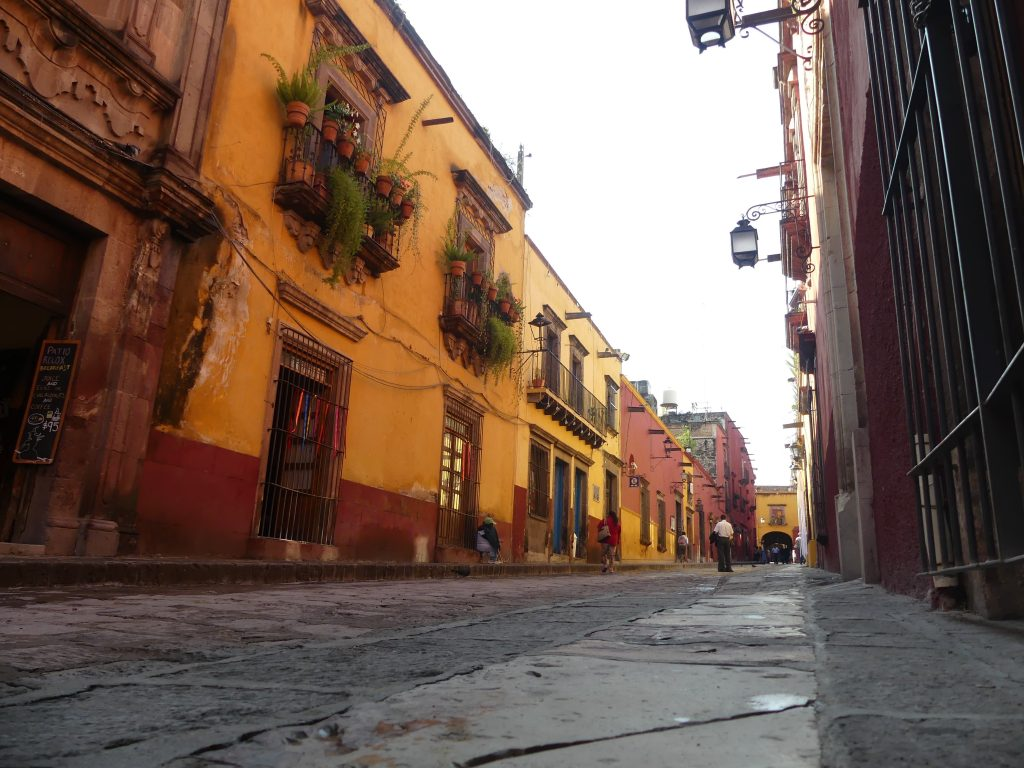 San Miguel de Allende, Gasse in der Altstadt