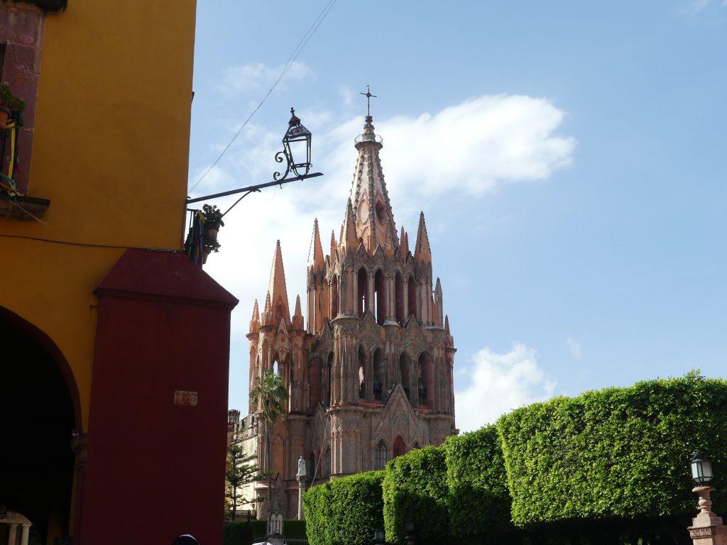 wunderschöne Kirche in San Miguel de Allende