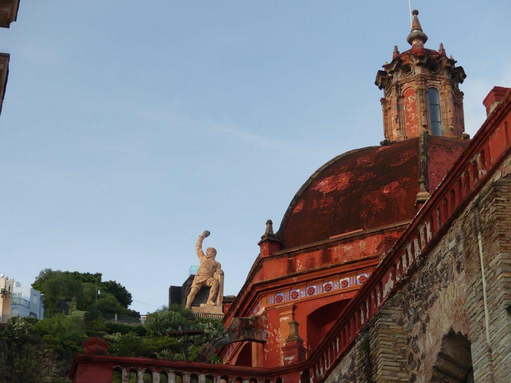 in der Altstadt von Guanajuato