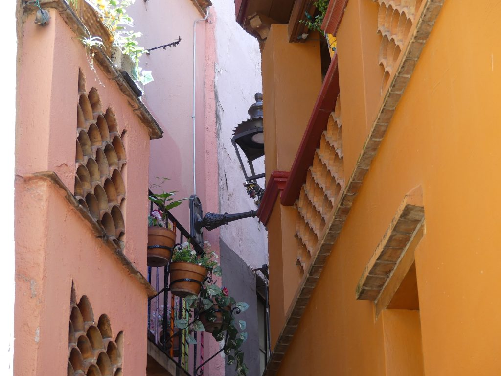 Guanajuato, die berühmte Küsschengasse