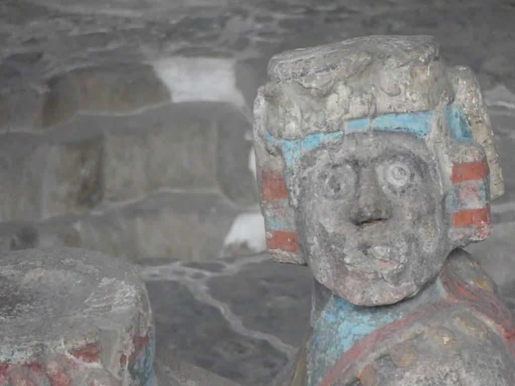 Tenochtitlan, Templo Mayor, Chak Mo'ol Figur