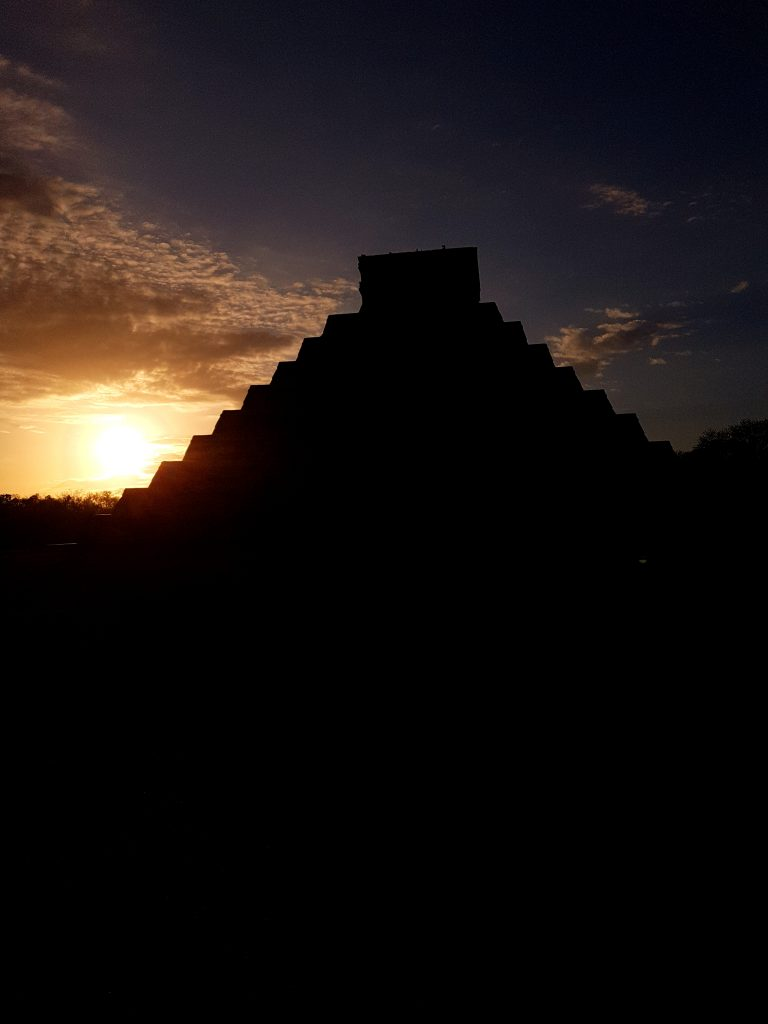 Sonnenaufgang in Chichen Itza