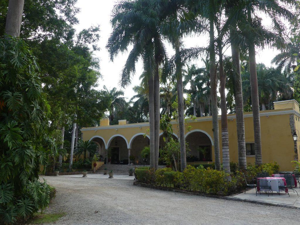 Hauptgebäude der Hacienda Chichen