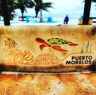 An der Promenade von Puerto Morelos. Für ein ehemaliges Fischerdorf sind die Meeresbewohner wichtig, Schildkröten 🐢, Korallen und Fische.🙂 . . . #puertomorelos #puertomorelosmexico #rivieramaya #riveramayamexico #meeresbewohner #schildkröte #korallen #fische #meeresschildkröte #turtle #tortuga #mexiko #mexico #ilovemexico #reisefotografie #reiseblog #instatravel #entdecken #martinasreisewelt
