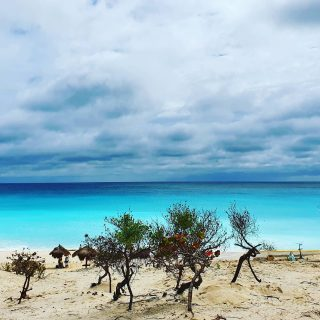 Playa Delfines bei nicht ganz so optimalem Wetter. Das Meer ist ein totaler Kontrast zu den Wolken. . . . #playadelfines #playadelfinescancun #cancunbeach #cancunmexico #cancun ##vitaminsea #beachvibes #beach #strand #playa #travelinspiration #travelphotography #travelgram #reiseblog #reisebloggerin #martinasreisewelt