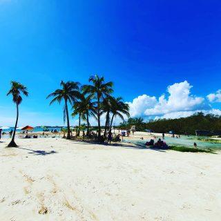 Punta Esmeralda,  Playa del Carmen.  . . . #puntaesmeralda #playadelcarmen #playadelcarmenmexico #vitaminsea #beach #beachlife #playa #strand #palmen #palms #mexiko #mexico #ilovemexico #entdecken #martinasreisewelt