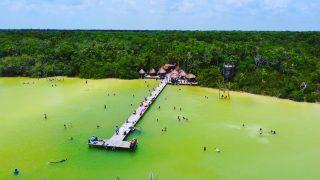 Zur Mittagszeit in der Lagune Kaan Luum. Das Foto zeigt einen kleinen Teil der Lagune. Sehr schön zu sehen ist das grüne Hinterland.😍😍😍 . . . #lagunakaanluum #laguna #lagune #tulummexico #quintanaroomexico #naturfotografie #dronephotography #erleben #entdecken #havefun #instatravel  #martinasreisewelt