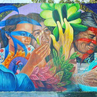 Streetart in Playa del Carmen zeigt die Verbindung von drei Generationen zur Natur (das ist natürlich nur meine Interpretation)😍😍😍 . . Mehr Infos zu Playa del Carmen und Ausflugstipps findet ihr hier https://martinasreisewelt.de/urlaubsziel-mexiko-playa-del-carmen-unternehmungen-und-ausflugstipps . #streetart #streetartphotography #entdecken #playadelcarmenmexico #playadelcarmen #rivieramaya #rivieramayamexico #nature #natur #instatravel #reisebloggerin #reisen #reiseblog #martinasreisewelt