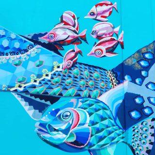 Hübsche Fische. Beim Schnorcheln könnt ihr sie im glasklaren Meer wie in einem Aquarium betrachten.🙂🙂🙂 @senkoeone war der Künstler . . . #streetart #streetartphotography #artwork #murales #mural #muralpainting #muralart #fische #schnorcheln #playadelcarmenmexico #rivieramaya #rivieramayamexico #reiseblog #martinasreisewelt